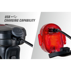 SIGMA SPORT Aura 35/Nugget II Zestaw oświetlenia na USB